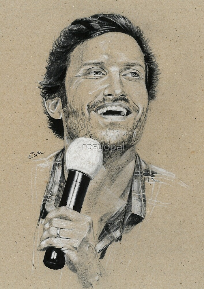 Rob Benedict by rosyopal