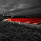 Truck on the Highway by Paul Campbell  Photography