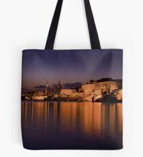 Marsamxett Creek Valletta Malta Tote Bag