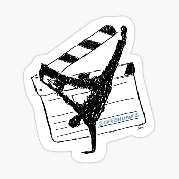 Screendance streetdance rules Pegatina