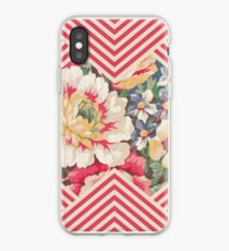 Candy Floral Chevron iPhone Case