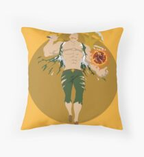 Escanor Seven Deadly Sins Nanatsu no Taizai Throw Pillow
