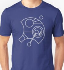 Custom Name in Circular Gallifreyan from Doctor Who (Please message me your name before ordering!)  Unisex T-Shirt