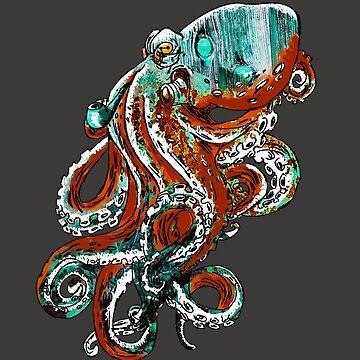 Mr. Octopus by michinus