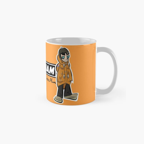 LG - Parka Monkees - Cartoon LGv1 w/ Logo (Love Forever - Orange Parka) Classic Mug