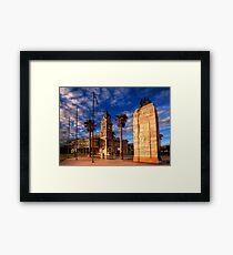 Glenelg Townhall - HDR Framed Print
