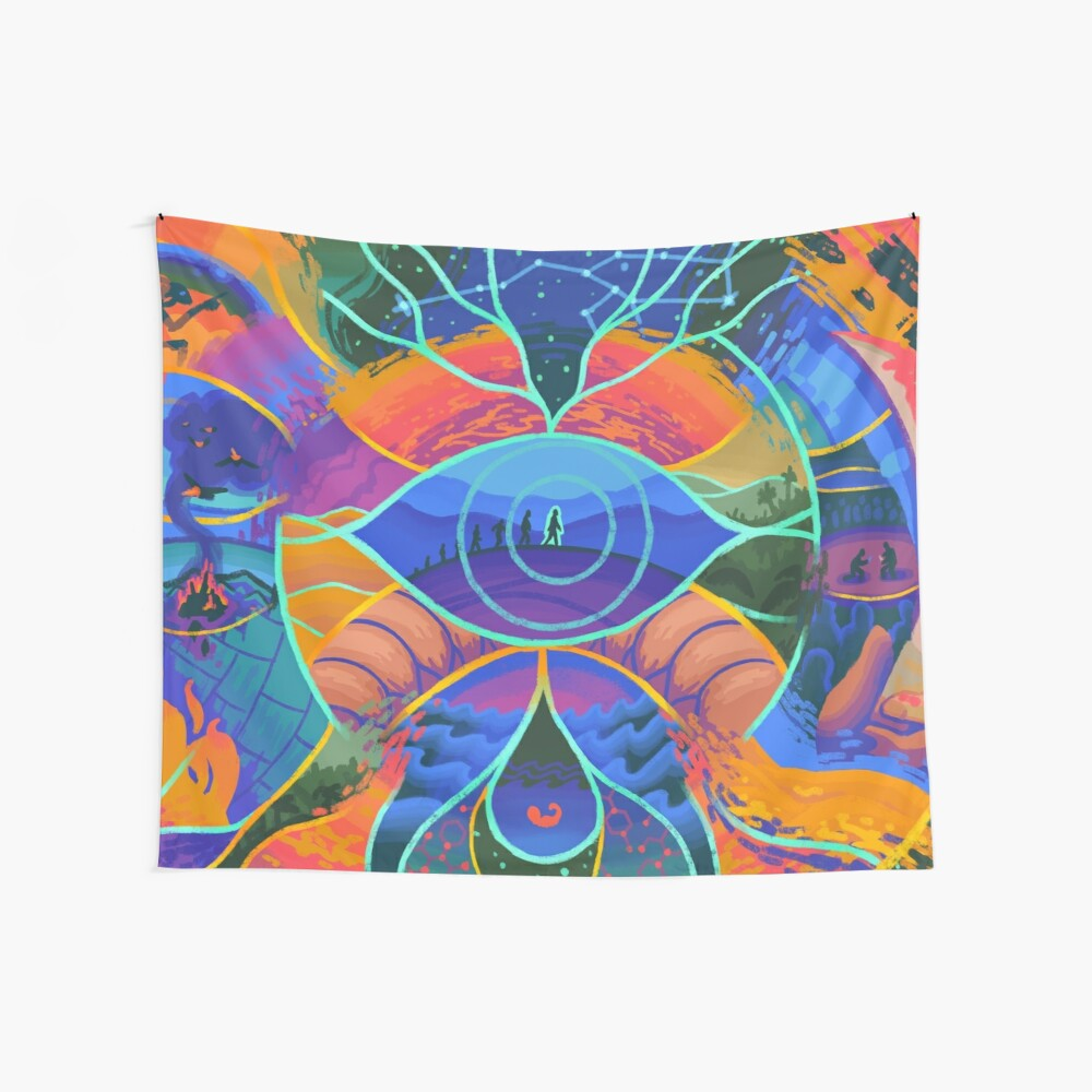 The Spice Must Flow Wall Tapestry