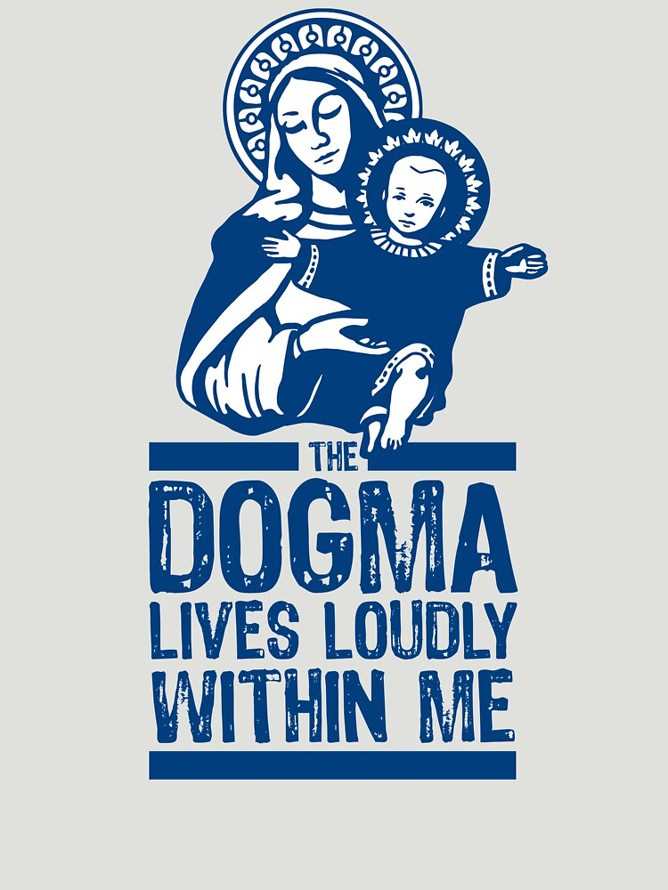 Dogma Lives Loudly Within Mary the Madonna by DOODL