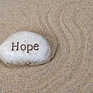 Hope in Sand by Maria Dryfhout