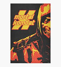 Scorpion - Mortal Kombat X Photographic Print