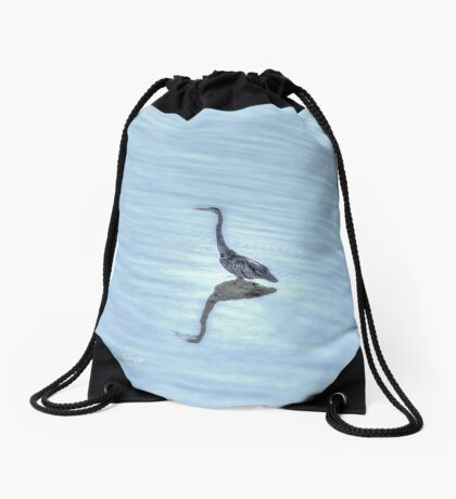 Out of the Blue ! Drawstring Bag