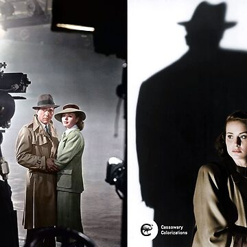 Cinema mashup - The Third Man & Casablanca by cassowaryprods