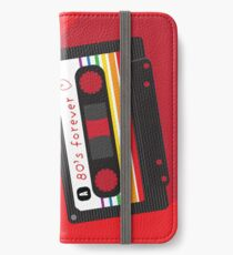 80's Forever Mix Tape iPhone Wallet/Case/Skin