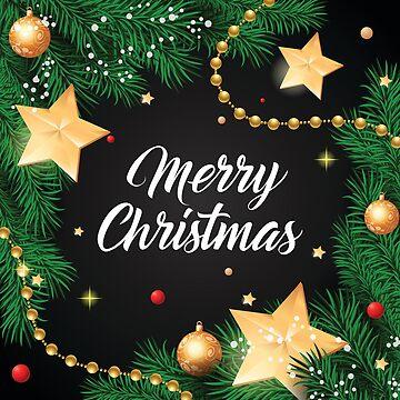 Frohe Weihnachten Sterne Design von webtrekker