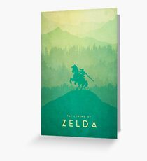 Warrior - The Legend of Zelda Greeting Card