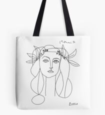 Pablo Picasso War And Peace 1952 Artwork T Shirt, Sketch Tote Bag