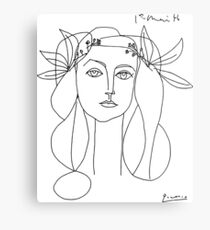 Pablo Picasso War And Peace 1952 Artwork T Shirt, Sketch Metal Print