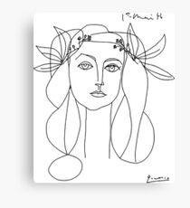 Lienzo Pablo Picasso War And Peace 1952 Obra de arte camiseta, dibujo