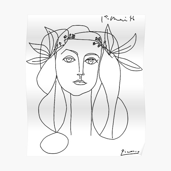 Pablo Picasso War And Peace 1952 Artwork, for Wall Art, Tshirts, Prints, Men, Women, Youth Poster