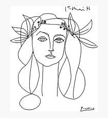 Pablo Picasso Krieg und Frieden 1952 Artwork T Shirt, Skizze Fotodruck