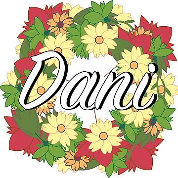 Dani - Flower Wreath by Nevl