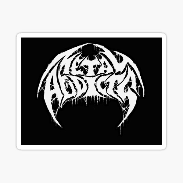 Metal Addicts 2018 Design Sticker