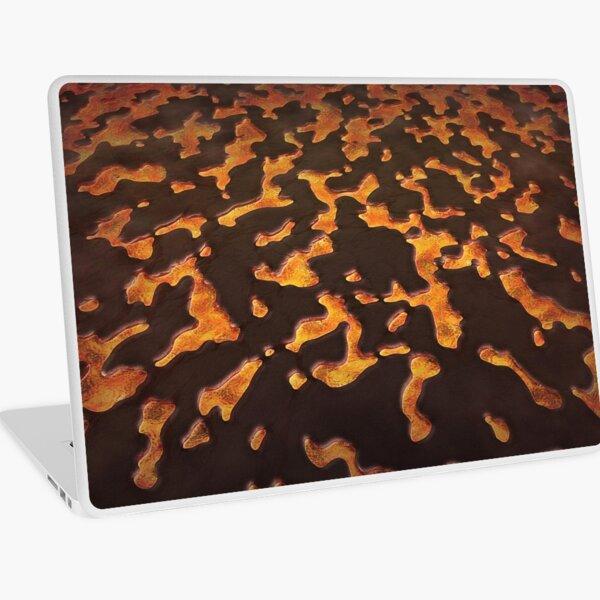 Lava Eruption Laptop Skin
