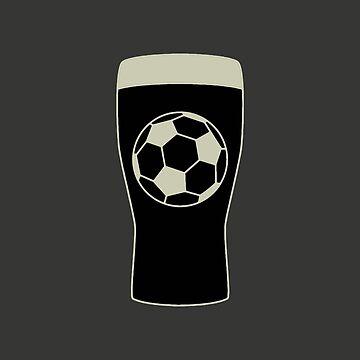 Guinness Football Pint by fundog