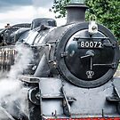 Steam Locomotive in Llangollen Station by StephenRphoto