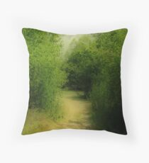 Absorbing Nature Throw Pillow