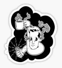 Coffee Dreams Sticker