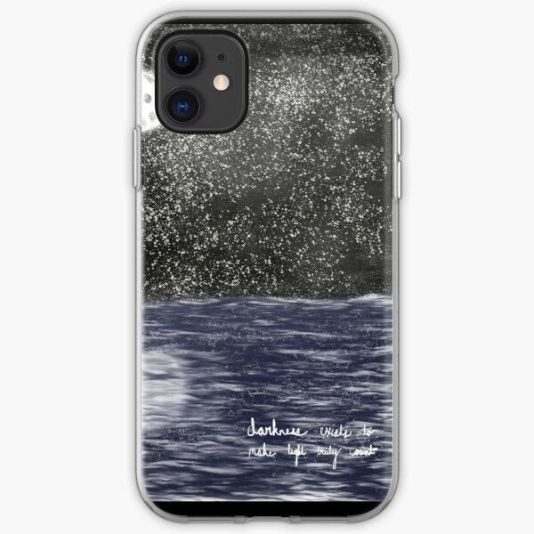 Moon iPhone Soft Case
