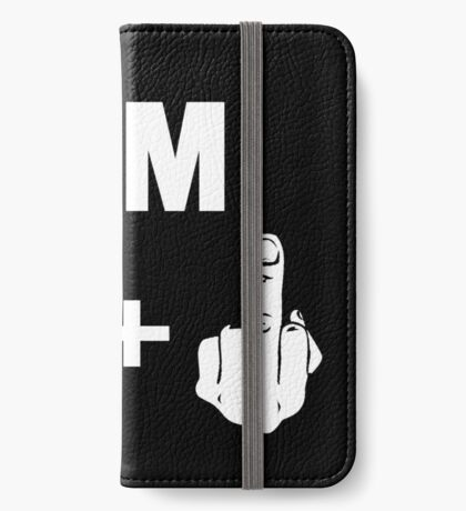 I'm 39+ Fck you! [Kobe Byrant 40th Birthday Special Edition] iPhone Wallet