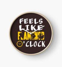 Feels Like Flamenco O'clock Funny Saying Printed Gifts Clock