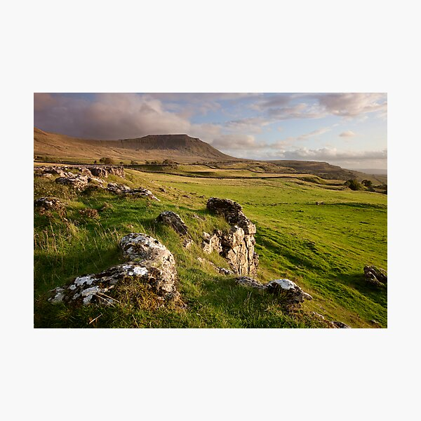 Ingleborough In The Yorkshire Dales Photographic Print