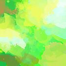Colorful Abstract - green pattern, forest, nature by floartstudio