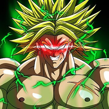 Full Powered Broly by FractalKing