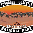 Theodore Roosevelt National Park North Dakota Bison Buffalo by MyHandmadeSigns