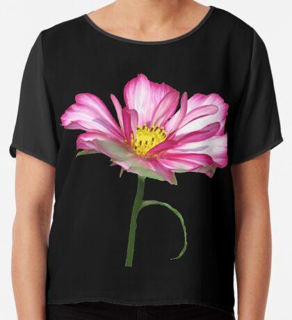 wundervolle Blume, Blüte, pink, pastell, Sommer Chiffontop für Frauen