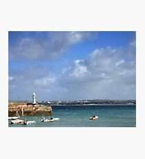 Impression Of St Ives Harbour Photographic Print