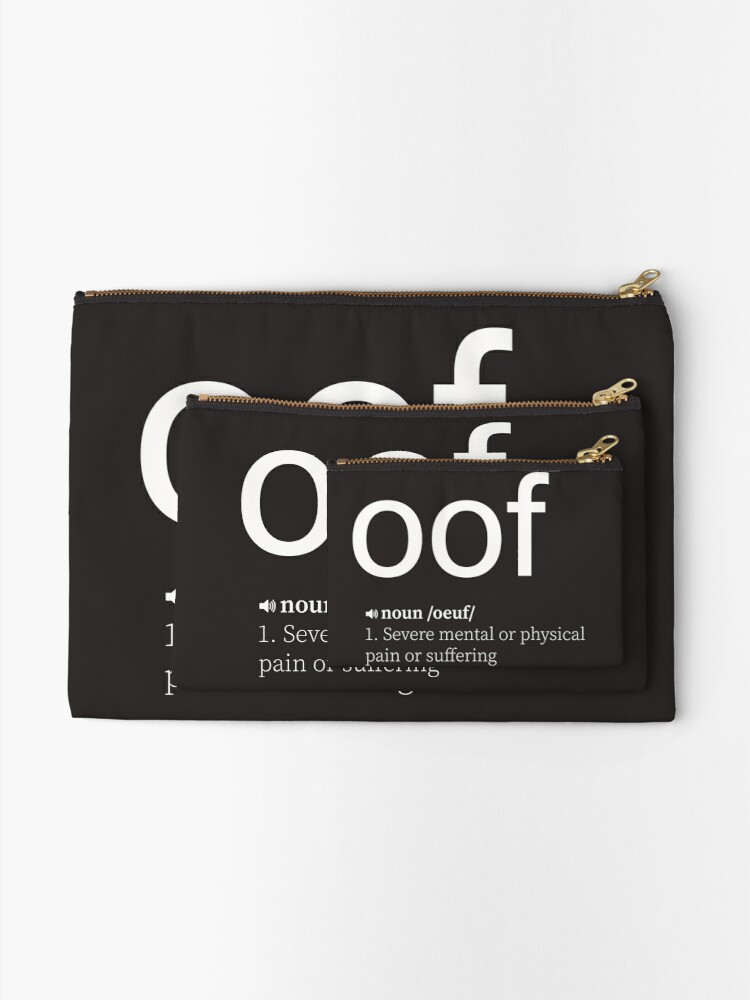 Alternate view of OOF Zipper Pouch