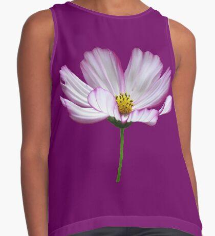 zauberhafte Blume, Blüte, pink, Sommer, pastell, violett Kontrast Top