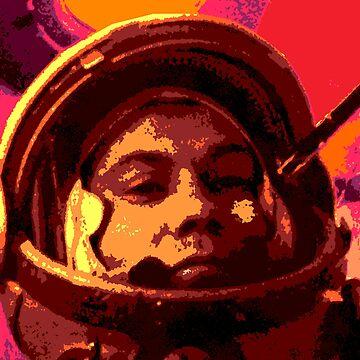 Cosmonaut Pavel Popovich-Vostok 4 by planetterra