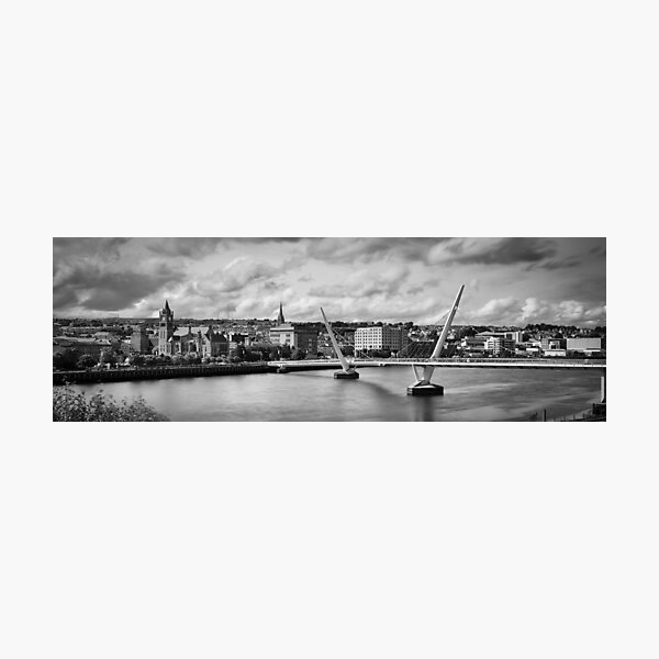 Peace Bridge Photographic Print