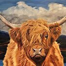 Highland Cow by EuniceWilkie