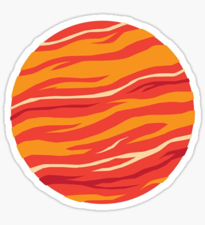Bound for Planet Bacon… Sticker