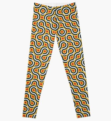 Truchet Tiles 017 Leggings
