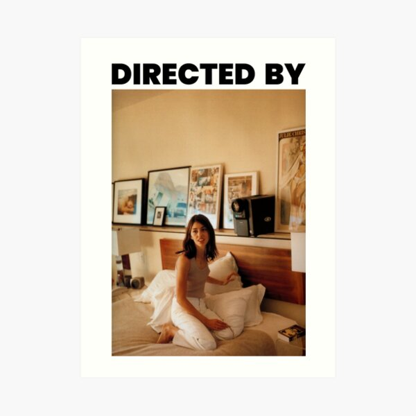 Directed by Sofia Coppola Art Print