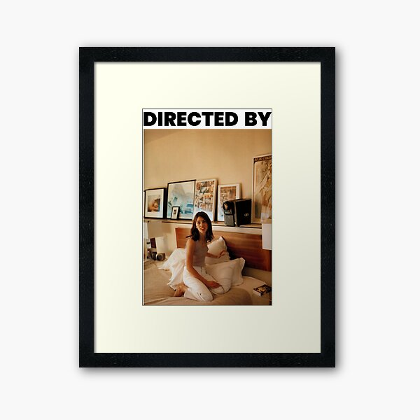 Directed by Sofia Coppola Framed Art Print