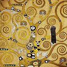 Gustav Klimt Owl in a Tree by edsimoneit